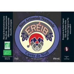 Bière de Noël Ereib 75cl - Nouveau !
